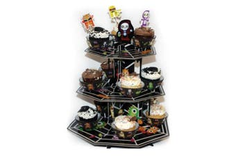 Amscan International Boo Crew 3 Tier Cup Cake Stand