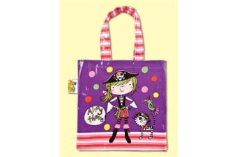 Rachel Ellen Girl Pirate PVC Tote Bag