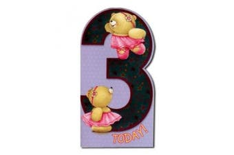 3rd Birthday Forever Friends Card