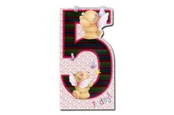5th Birthday Forever Friends Card