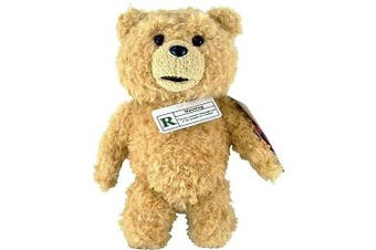 Ted ~20cm Plush w/ R-Rated Sound (5 Phrases in Explicit Language; For Adults Only)