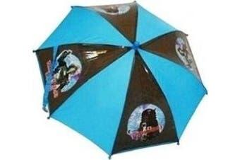 Dr Who - Dalek Blue and Black Umbrella - Brolley