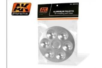 AK Interactive - Aluminium Palettes (6 Wells) # 00612