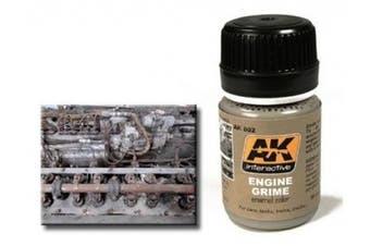 AK Interactive 00082 Engine Grime 35ml