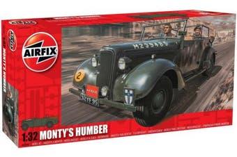 Airfix 1:32 Military Monty's Humber Snipe Staff Car Model Kit