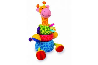 Soft Stacking Giraffe Baby Toy