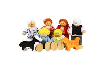 Bigjigs Toys JT117 Heritage Playset Doll Family