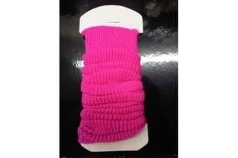 Fancy Dress Pink Legwarmers One Size