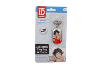 (Blue/ Harry) - One Direction Dog Tag Harry