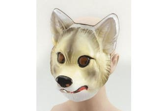 Plastic Animal Mask. Wolf