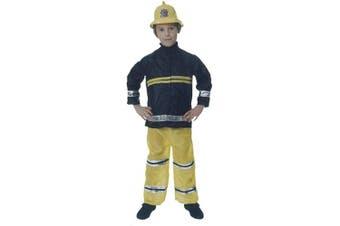 (medium) - Boys Fireman Fancy Dress Costume