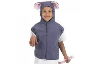 Mouse Tabard - Kids Costume - One Size (4-7 Years)