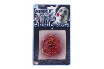 Forum Novelties Inc. Zombie Festering Sore Scar Bloody Costume Latex Wound