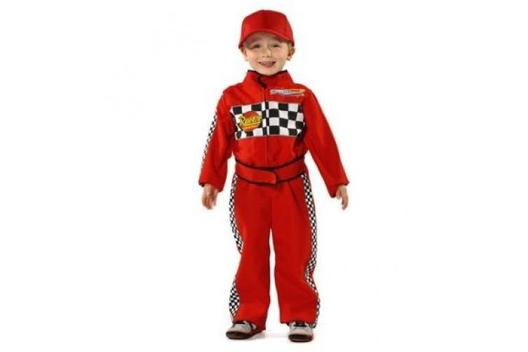 (5-7 Years) - Pretend to Bee Formula One F1 Racing Driver Costume 5-7 years