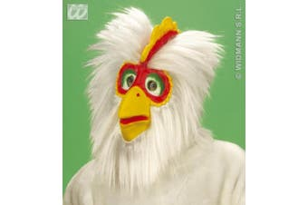 Chicken Mask Plush Halloween Party Masks Eyemasks & Disguises for Masquerade Fancy Dress Costume Accessory