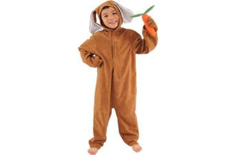 Brown Rabbit Lite Costume Age 4 to 6 years