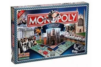 (Cambridge) - Winning Moves Games Cambridge Monopoly Board Game
