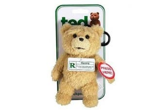 Ted The Movie Talking Plush Backpack Keyring Clip Officially Licenced