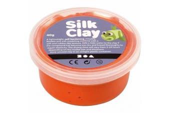 (Orange) - Creativ 40 g Silk Clay, Orange
