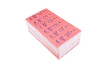 Jumbo Bingo Ticket Booklets, 6 to View, 5 Game