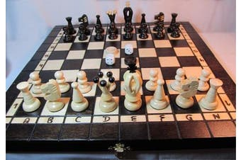 ChessEbook boxed set Chess + Draughts + Backgammon 35 x 35 cm