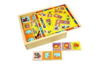 Bigjigs Toys BJ529 Animal Dominoes