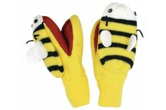 (bee) - Kidorable Kids Knitted Gloves/Mittens