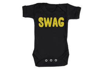 (6-12 Months, Red) - Baby Buddha - SWAG Baby Babygrow 100% Cotton Sizes 0M Upto 12M in 5 Colours