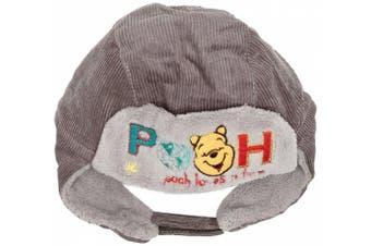 (48 cm, Grey) - Winnie the Pooh H11F4311 Baby Boy's Hat