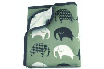 Littlephant Elephant Blanket and Comforter Set (Grey)