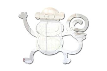 Mungai Mirrors 15cm Jungle Monkey Acrylic Mirror