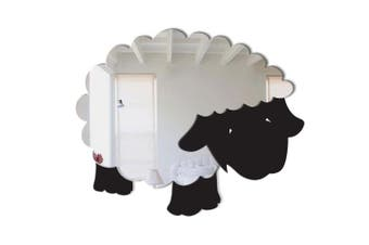 Mungai Mirrors 15cm Woolly Sheep Acrylic Mirror