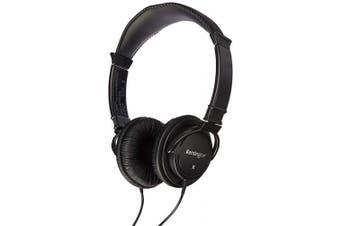 (Headphones) - Hi-Fi Headphones, Plush Sealed Earpads, Black