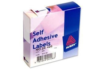 Avery Label Dispenser for 25x50mm White Ref 24 426 400 Labels