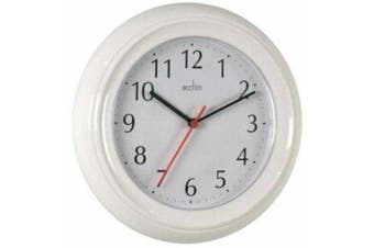 (White) - Acctim Wycombe Wall Clock White 21412