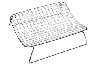 """Kitchencraft Chrome-plated Wire Mesh Cooling And Roasting Rack, 25 x 20cm (10"""""""