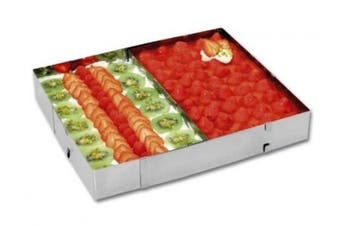 CHG 9754-00 Baking Tray with Divider Height: 5 cm Length and Width can be Adjusted