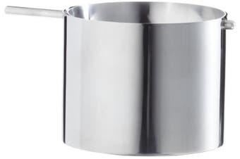 (Size 2 Ø10cm) - Stelton 09-2 Large Revolving Ashtray, Stainless Steel