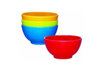 (Bowls) - KitchenCraft Miniamo Melamine Bowls, Set of 4