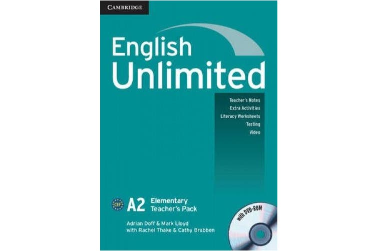 English Unlimited Elementary Teacher's Pack (Teacher's Book with DVD-ROM): A2 elementary