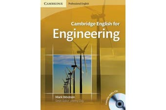 Cambridge English for Engineering Student's Book with Audio CDs (2) [With 2 CDs]