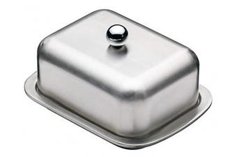 Masterclass Deep Double Walled Insulated Butter Dish And Cover, Display Boxed