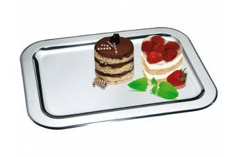 CHG 03017-S12 Serving Tray Stainless-Steel 36 cm x 25 cm