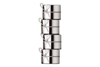 Wedgwood Love Knots Set of 4 Napkin Serviette Rings by Vera Wang Gift Idea