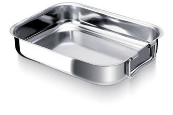 (30 cm) - Beka Stainless Steel Rectangular Oven Roasting Dish 30 cm
