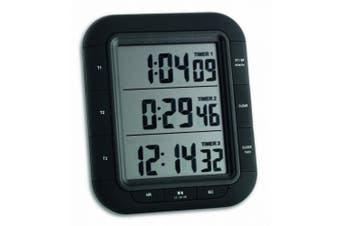 (Digital Timer Black) - Digital Timer Triple XL TFA 38.2023