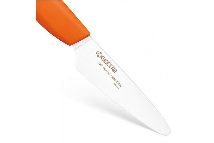 (Orange) - Kyocera Ceramic Knife FK 075WH-OR -Paring Knife - orange handle