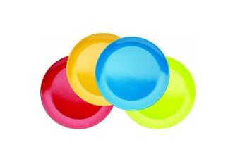 (Plates) - KitchenCraft Miniamo Melamine Plates, Set of 4
