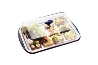 Cooling Display Tray & Cover 5 piece tray and cover set