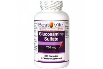 Glucosamine Sulphate 750mg (240 Capsules)